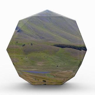 イタリアのSibillini山の景色 表彰盾
