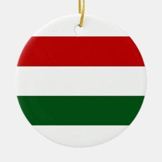 イタリアまたはメキシコの旗/旗 セラミックオーナメント