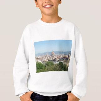 イタリアフィレンツェの大教会堂のミケランジェロスクエア(新しい) スウェットシャツ