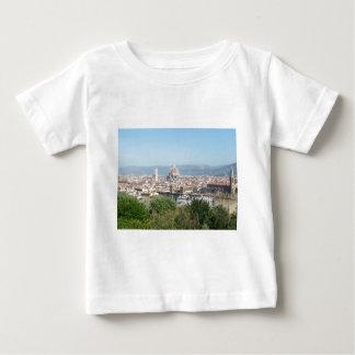 イタリアフィレンツェの大教会堂のミケランジェロスクエア(新しい) ベビーTシャツ