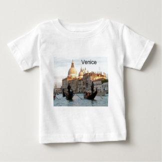 イタリアベニスの大運河(St.K) ベビーTシャツ