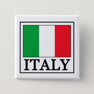 イタリアボタン 5.1CM 正方形バッジ