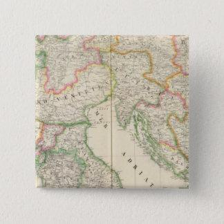 イタリアヨーロッパ20 5.1CM 正方形バッジ