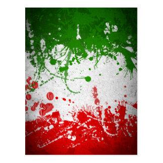 イタリアライン ポストカード
