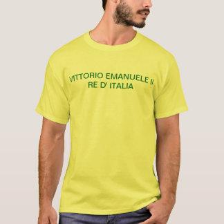 イタリアワイシャツ1861の5リラの硬貨の Tシャツ