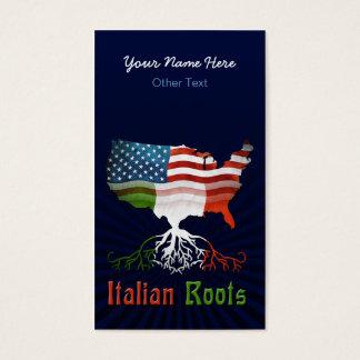 イタリアンなアメリカのコロシアムのカスタムな名刺 名刺