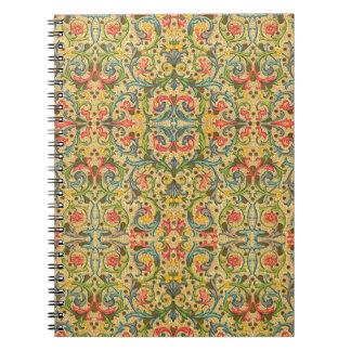 イタリアンなアラベスク ノートブック