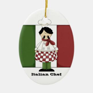 イタリアンなシェフ#2の台所オーナメント セラミックオーナメント