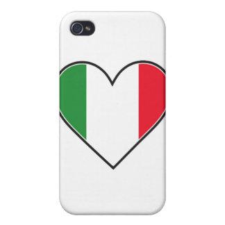 イタリアンなハート iPhone 4/4Sケース