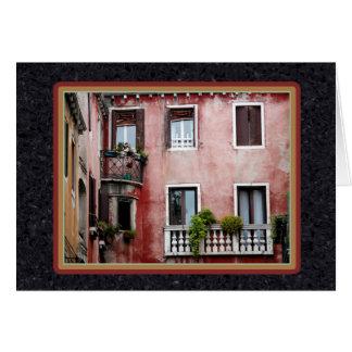 イタリアンなバルコニー カード