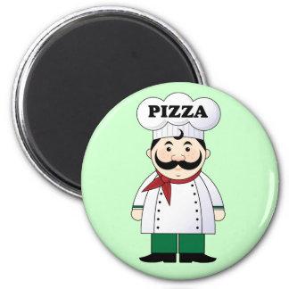 イタリアンなピザシェフの磁石 マグネット