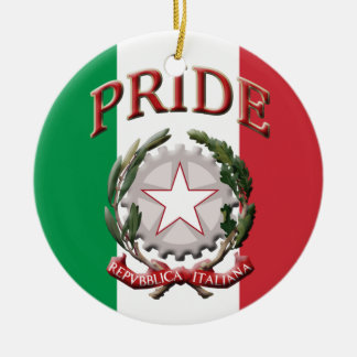 イタリアンなプライド セラミックオーナメント