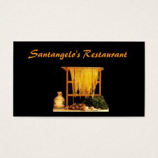 イタリアンなレストラン 名刺