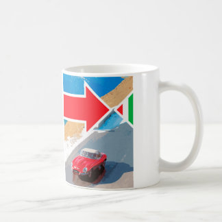 イタリアンな仕事のジャガーのEタイプ848CRYマグ コーヒーマグカップ
