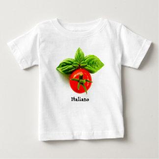 イタリアンな伝統のベビーのTシャツ ベビーTシャツ