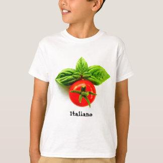 イタリアンな伝統の子供のTシャツ Tシャツ