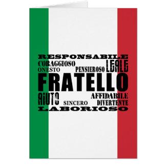 イタリアンな兄弟: 質 カード