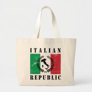 イタリアンな共和国 ラージトートバッグ