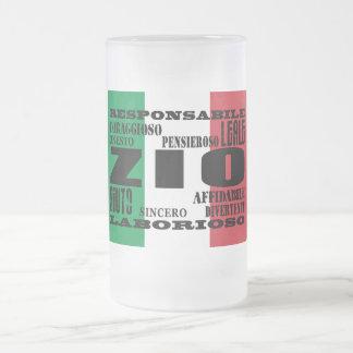 イタリアンな叔父さん: 質 フロストグラスビールジョッキ