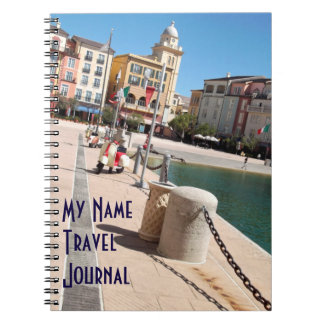 イタリアンな広場テーマ旅行ジャーナル ノートブック