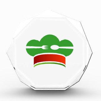 イタリアンな料理 表彰盾