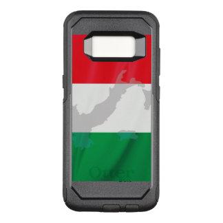 イタリアンな旗およびイタリア オッターボックスコミューターSamsung GALAXY S8 ケース