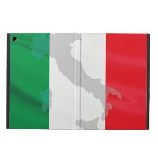 イタリアンな旗およびイタリア iPad AIRケース