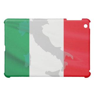 イタリアンな旗およびイタリア iPad MINIケース