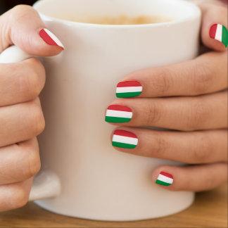 イタリアンな旗のネイル延長イタリアの| Tricolore ネイルアート