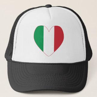 イタリアンな旗のハート キャップ