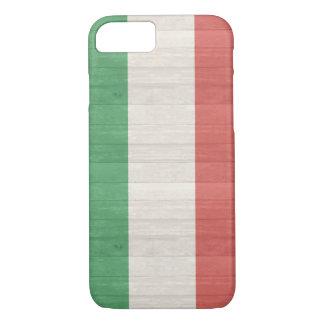 イタリアンな旗の箱 iPhone 8/7ケース