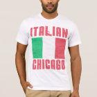 イタリアンな旗シカゴ Tシャツ