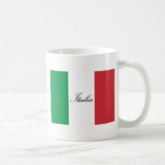 イタリアンな旗-イタリア-イタリアの旗 コーヒーマグカップ