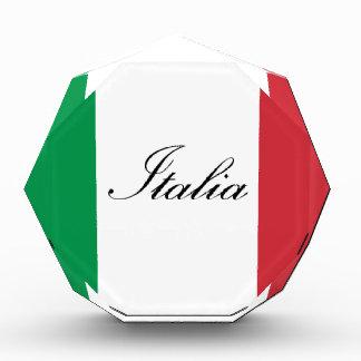 イタリアンな旗-イタリア-イタリアの旗 表彰盾