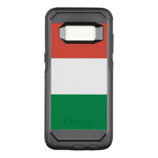 イタリアンな旗 オッターボックスコミューターSamsung GALAXY S8 ケース