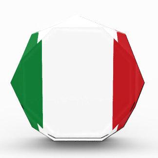 イタリアンな旗 表彰盾