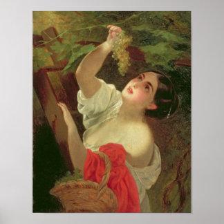 イタリアンな正午1831年 ポスター