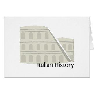 イタリアンな歴史 カード