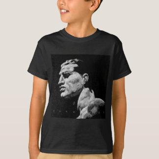 イタリアンな男性の彫刻Foro Italico 1 Tシャツ