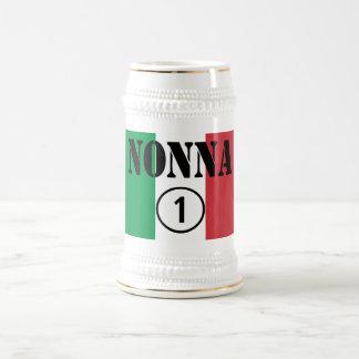 イタリアンな祖母: Nonna Numero Uno ビールジョッキ