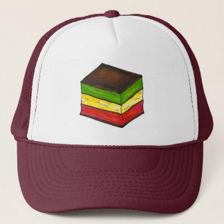 イタリアンな虹7つの層のクッキーのクリスマスの帽子 キャップ