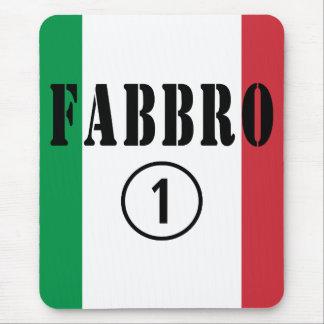 イタリアンな鍛冶屋: Fabbro Numero Uno マウスパッド