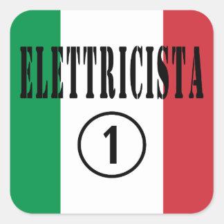 イタリアンな電気技師: Elettricista Numero Uno スクエアシール