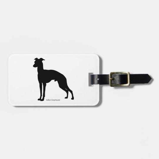 イタリアン・グレイハウンド ラゲージタグ Italian Greyhound Luggage tag