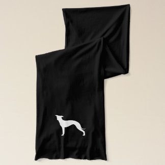 イタリアン・グレーハウンドのシルエット スカーフ