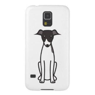 イタリアン・グレーハウンド犬の漫画 GALAXY S5 ケース