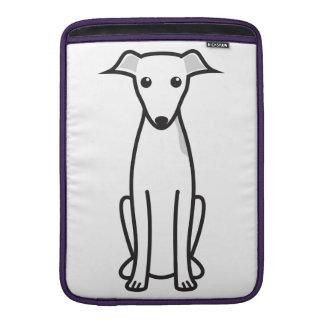 イタリアン・グレーハウンド犬の漫画 MacBook スリーブ