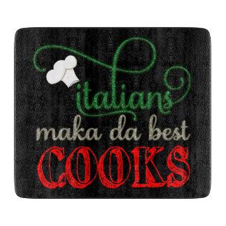 、イタリア人が実際に最も最高のな調理師を作るので カッティングボード