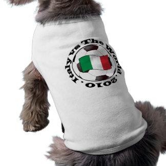 イタリア対世界 ペット服