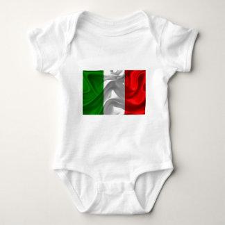 イタリア旗 ベビーボディスーツ